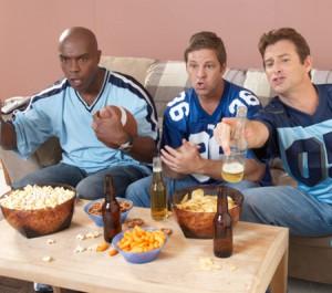 Guys Watching TV